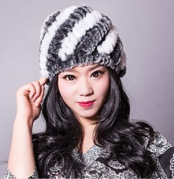 3bc73c986f9b7 Boys Lady Cap Online Shopping - Hot New 2016 Newest Women s Fashion Real  Knitted Rex Rabbit