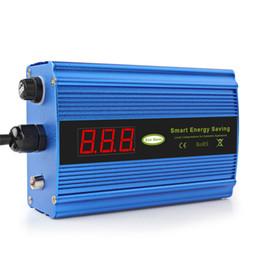 Energia poupança de energia eu on-line-50 KW 90-265 V Caixa de Poupança de Energia Inteligente Dispositivo de Economia de Energia Inteligente LEVOU Casa Eletricidade Bill Killer Até 35% UE / EUA Plug