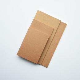 Papier ligné en Ligne-Papier de poche Taille Papier Kraft Papier Bloc-notes Inserts de papier Inserts de papier vierge Journal ordonné Croquis de graffiti Papeterie créative simple