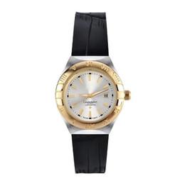 Wholesale Tungsten Gold Watch - Hot Design Fashion Swiss Luxury brand classic OMEGAING Women's Leather quartz watch