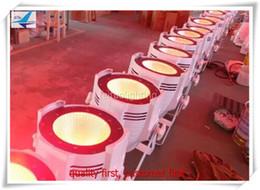 Wholesale Fresnel Lights - 8lights with case 150w Dj Disco Light Indoor DMX 4in1 warm cool white cob led par 64 can fresnel stage lights