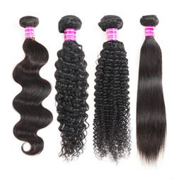 Cheveux brésiliens hétéroclites brésiliens - Vagues de l'eau profonde péruvienne - Extensions de cheveux crépus bouclés - Remy - cheveux humides et ondulés ? partir de fabricateur
