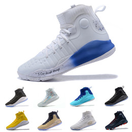 Wholesale Black Flush - Wholesale High quality Curry 4 mens basketball shoes MVP All-Star Flushed Pink More Range Fun Dubs Gray Athletic Sneakers