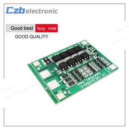 Wholesale Lithium Battery Charging Board - 30A 3S Polymer Lithium Battery Charger Protection Board 3 Serial 12V 18650 3.7 Li-ion Charging Protect Module 45*56*3.5mm