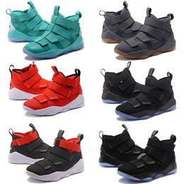 Wholesale Gold Soldier - 2017 New Arrival James XI Soldiers 11 Limited Edition Chameleon Men's Basketball Shoes for Top Quality Cheap Sale Sports Sneakers Size 40-46