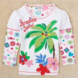 040b3af4985b 2018 coconut tree baby girls clothes girl t shirt 2018 girls fashion baby  printed floral girl t shirts children clothing casual