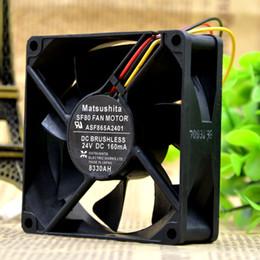 2019 fan di yaskawa Per ventilatore inverter Yaskawa originale ASF865A2401 24V 160MA 80 * 80 * 25mm ventola di raffreddamento fan di yaskawa economici