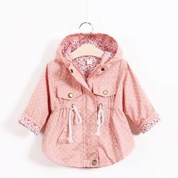2019 Frühling Herbst Baby Mädchen Mantel Jacke Infant Kleidung Zipper Oberbekleidung Baby Kinder Casual Floral Weihnachten Jacke Warm Und Winddicht Jacken & Mäntel