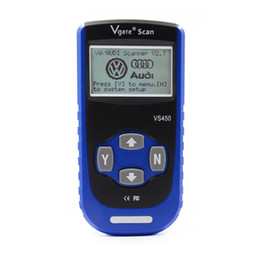 Wholesale airbags scan tool - Vgate VS450 VAG OBD2 ABS Airbag Immobilizer Code Reader Diagnostic Scan Tool for Audi for VW