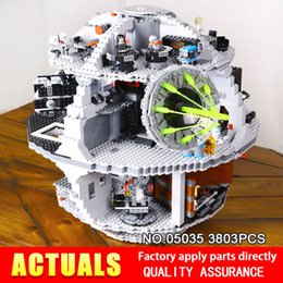 Wholesale Death Stars - LEPIN 05035 Star Classic Death 3804pcs Building Block Bricks Toys Kits Compatible with 10188 to Holiday gifts