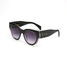 Nuovo arrivato popolare occhiali da sole di alta qualità telaio 41447 stile uomini donne occhiali da sole protezione uv eyewear spedizione gratuita da occhiali da asso fornitori