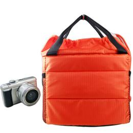 Venda de câmeras impermeáveis on-line-À Prova D 'Água DR Particionar Acolchoado Saco Da Câmera Inserir Caso Divisor Embutido Liner R Bolsa Da Câmera Sacos 88 Melhor Venda-WT