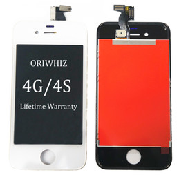 Wholesale iphone 4s cdma lcd - Cheapest in The World for iPhone LCD with Frame for iPhone 4 4S LCD CDMA GSM for iPhone 4 Screen Digitizer Assembly Display