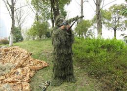 vêtements en tissu multifonction Promotion Vert camouflage costume yowie costume de chasse vêtements sniper costume ghillie paintball tactique halloween costume livraison gratuite
