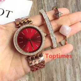 2019 bracelet en diamant de glace Montres de montres glacées pour femmes en or rose avec diamants, montres M3192 M3190, montres de luxe, montres-bracelets avec chaînes de bracelets promotion bracelet en diamant de glace