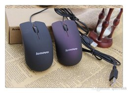 Wholesale Pc Mouse Gaming - DHL Lenovo M20 Wired Mouse USB 2.0 Pro Gaming Mouse Optical Mice For Computer PC High Quality