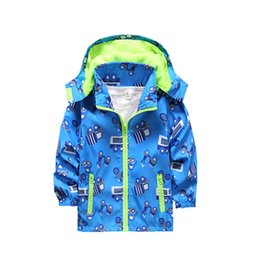 2019 roupa dos meninos franceses Cola meninos bebê primavera outono jaqueta moda jaquetas francesas esportes casaco crianças outerwear camisolas para meninos crianças roupas roupa dos meninos franceses barato