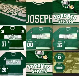 Wholesale Pat Mat - Toronto St Pats Mats Sundin 16 DARCY TUCKER 28 TIE DOMI 31 CURTIS JOSEPH Maple Leafs Throwback Hockey Jersey Stiched Any Name & Number