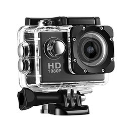 Wholesale Microsd Cards 8gb - 30M Waterproof Action Camera 5MP HD 1080P 720P 2 Inch LCD Screen 170° Degree Wide Angle Lens Sport Cam - Include 8GB TF Card