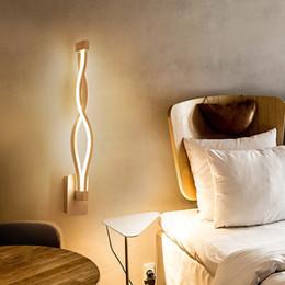 современные настенные светильники для гостиной Скидка 16 Вт светодиодный настенный светильник Современная спальня рядом с чтением настенный светильник крытый Гостиная Коридор гостиничный номер освещение украшения