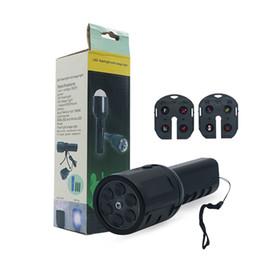 carga da luz da tocha Desconto Criativo Handheld LED Lanterna Lâmpada de Projeção Com 2 Slides Cartões AAA Bateria de Carregamento Portátil Tochas de Iluminação para o Natal
