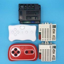 controlador de vuelo cc3d Rebajas El control remoto eléctrico Bluetooth para automóvil de juguete Wellye para niños, reveiver con función de inicio suave 2.4G Bluetooth transmisor 12V