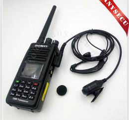 2016 NUEVO Lanzamiento DMR Digital Walkie Talkie ANYSECU DM690 impermeable IP67 VHF136-174MHz (TYT MD390) Trabaja con la radio HYTERA KIRISUN desde fabricantes