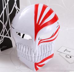 2019 máscara japonesa Homens Mulheres Halloween Full Mask Anime Japonês Personagem Cosplay Acessórios Máscara Misteriosa Masquerade Máscara Do Partido máscara japonesa barato