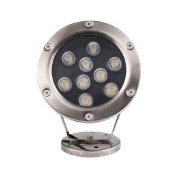 Fuente de luz subacuática LED Luz 3W 5W 6W 7W IP68 Lámpara de piscina LED Luz Fuente LED RGB Luces 12V 24V 110V 220V desde fabricantes