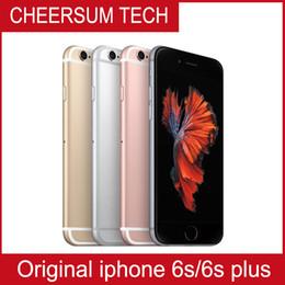 Камера сенсорный экран сотовые телефоны онлайн-100% оригинальный экран Apple, 4,7-дюймовый iPhone 6S с сенсорным IOS 9 Dual Core 2 ГБ оперативной памяти 16 ГБ 64 ГБ 128 ГБ ROM 12MP камера разблокирована сотовый телефон