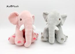 Canada 2018 NOUVEAU ON - Qualité Moyen TAILLE 20CM éléphant jouets en peluche, Figure animale molle peluche peluche TOY Elephant DOLL supplier elephant figures Offre