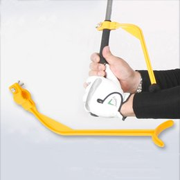 Wholesale trainer alignment - Golf Practice Wrist Swing Educational Trainer Guide Gesture Alignment Training