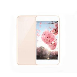 Wholesale Gsm Smartphone - Unlocked Goophone 8 plus 2G GSM SmartPhone 5.5inch Quad Core 512MB RAM 4GB ROM With Seal Box
