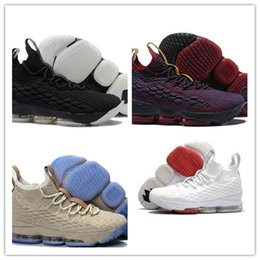 Wholesale plush for sale - 2018 new 15 Black Red mens basketball shoes For Sale Arrival 15 Sneakers 15s Airs Cushion Sports size us7-us12