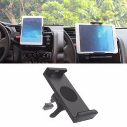 Argentina Soporte rotatorio universal del tenedor del soporte del coche de 360 grados para el iPad 2 3 4 Aire Galaxy Tab 2 S3 para el iPhone 6P 7 más cheap universal stand car Suministro