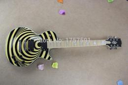 Wholesale Zakk Wylde Emg - Wholesale High quality EMG Pickup NEW Custom Zakk Wylde Vertigo Electric Guitar +Free shipping