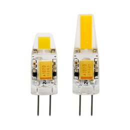 Wholesale G4 Led For 12v Ac - 1pcs Mini G4 LED COB Lamp 3W 6W Bulb AC DC 12V 220V Candle Silicone Lights Replace 20W 30W 40W Halogen for Chandelier Spotlight