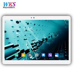 2019 tablette pc 4gb wifi 3g Ursprünglicher 10,1 Zoll 3G / 4G LTE-Tabletten-PC Android 7.0 Octa-Kern 4GB + 64GB 1920 * 1200 IPS WIFI Smart Tablets PC 10 10.1 freies Verschiffen rabatt tablette pc 4gb wifi 3g