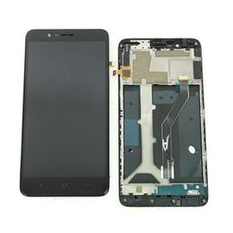 Assemblaggio con fusibile LCD originale per 6.0 ZTE Blade Z max Z982 MetroPCS con telaio nero da