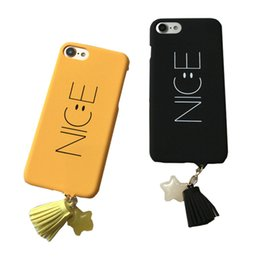"""Wholesale Nice Apple - Fashion Cartoon Nice Letter Case For iphone 6 6S Plus 6Plus 4.7 5.5"""" Phone Cases Funny Smile Face Back Cover Hard Capa Coque HOT"""