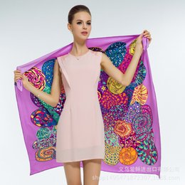 Wholesale French Scarves - French Original Single H Twill Silk Scarf Large Square Scarf International LU0416