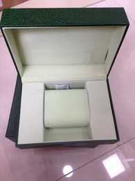 luxury green box Coupons - 2018 Free Shipping Green Brand Watch Original Box Papers Card Purse Gift Boxes Handbag