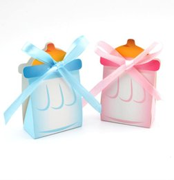Wholesale Bottle Gift Paper Bag - Full moon candy gift box bottle European candy bag full moon sugar bag baby birthday creative candy gift box