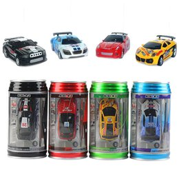 Wholesale Mini Pops Kids - Remote Control Coke Car Toys High Speed Truck Mini Pop -Top Cars Rc Car 4 Colors Random Delivery Electronic Kids Boy Toys