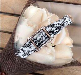 Wholesale Vintage Gold Snake Bracelet - Snake Color Shape Vintage Women Business Quartz watches Set Bracelet + Automatic Date Calendar Steel Women Bracelet Chain Clock