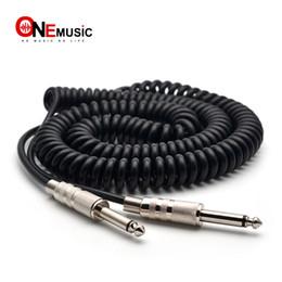 Canada Câble de ressort de guitare Câble audio 5M de ressort mâle à mâle de 6,5 mm à 6,5 mm Offre