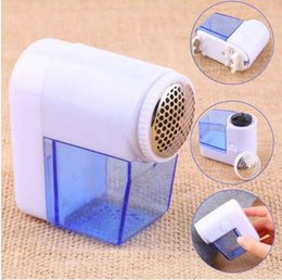Wholesale Wool Fabric Wholesalers - Mini Electric Fuzz Cloth Pill Lint Remover Wool Sweater Fabric Shaver Trimmer Clothes Shaver Machine Sweater Fabric Shaver KKA3882