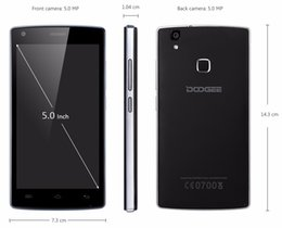Wholesale Doogee Android - DOOGEE X5 Max Pro X5 Max MTK6737 Quad Core 5.0Inch touch screen Android 6.0 4000mAh 8.0MP Camera Fingerprint Mobile Phone