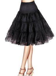 Wholesale Tulle Slips - Puffy Petticoats Mini Short Length Custom Made Ruffles Tulle Colorful Petticoat 2018 Tutu Skirts Underskirt For Dresses