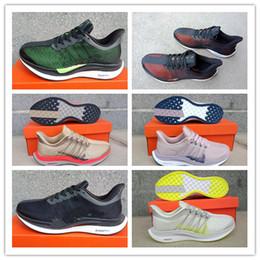 Lignes de balle en Ligne-2018 Air Zoom Pegasus Turbo 35 Chaussures de course pour homme Femmes Originals Pegasus 35 Doublure Net Gaze Sneakers Chaussures de sport Taille Eur 36-46